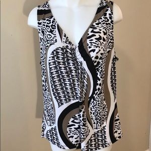 Ellen Tracy Blouse Large
